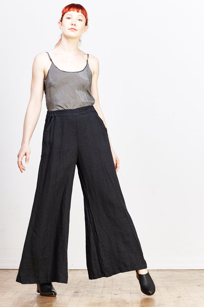 Wendy Linen Pant - Ink - nat + sus