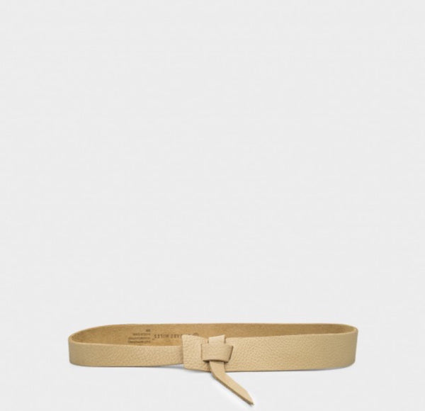 Asymmetrical Hip Belt - Sand - nat + sus/the shop
