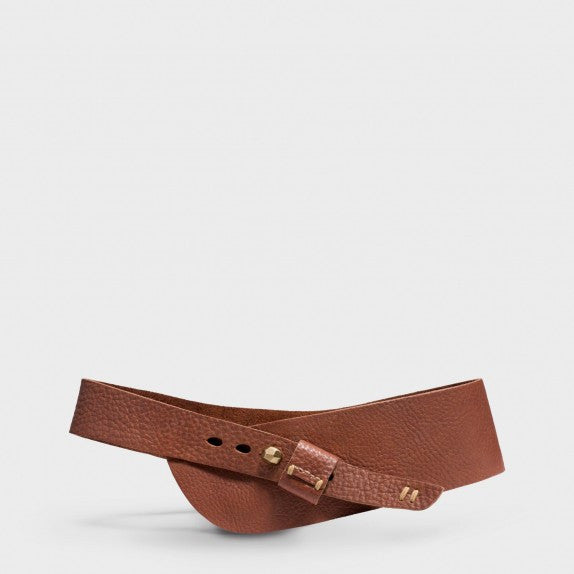 Half Moon Hip Belt - Tobacco - nat + sus