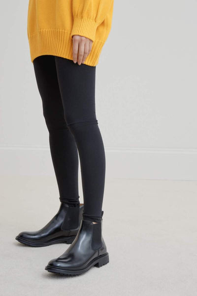Kowtow Building Block Legging - Black - nat + sus