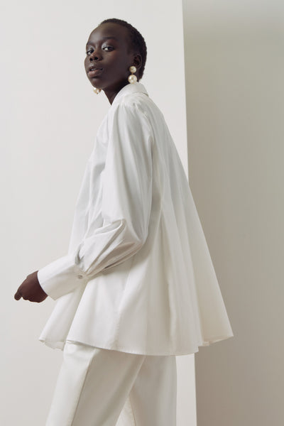 Kowtow Pages Shirt - White (LAST ONE!)