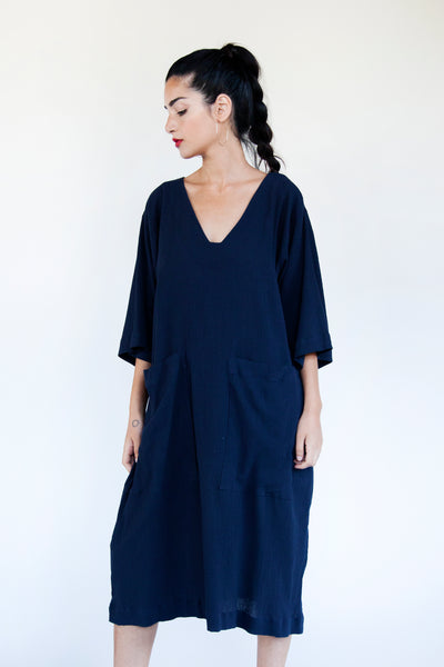 SALE! Patch Pocket Dress - Various Colors - nat + sus