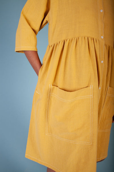 L.F. Markey Samuel Dress - Saffron