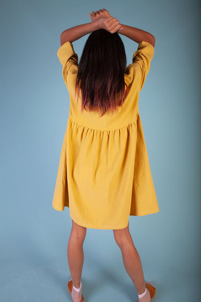 L.F. Markey Samuel Dress - Saffron - nat + sus