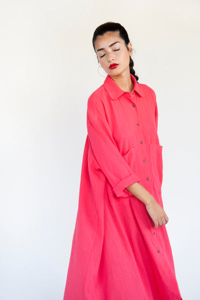 Shirt Dress - Various Colors - nat + sus