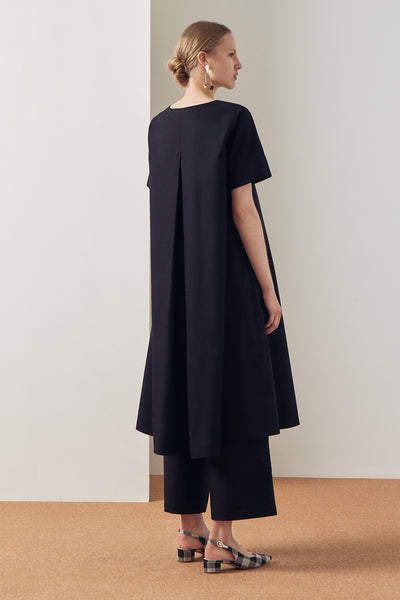 Kowtow Triangle Dress - Black - nat + sus