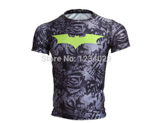 2015 American league devil batman superman tights man, the man of the super elastic sleeve round collar T-shirt fitness clothing - Clearlygeek - 18