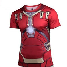 Hot sales 2015 New compressed t-shirt hot Super hero Lightning  Iron man t shirt men sports quick dry fitness clothing - Clearlygeek - 11