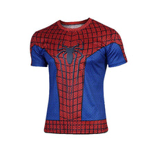 Hot sales 2015 New compressed t-shirt hot Super hero Lightning  Iron man t shirt men sports quick dry fitness clothing - Clearlygeek - 10