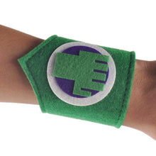 2015 new a pair cartoon kids superhero wristband bracelet Bangle costume hero cosplay for baby boy girl birthday Party supplies - Clearlygeek - 10