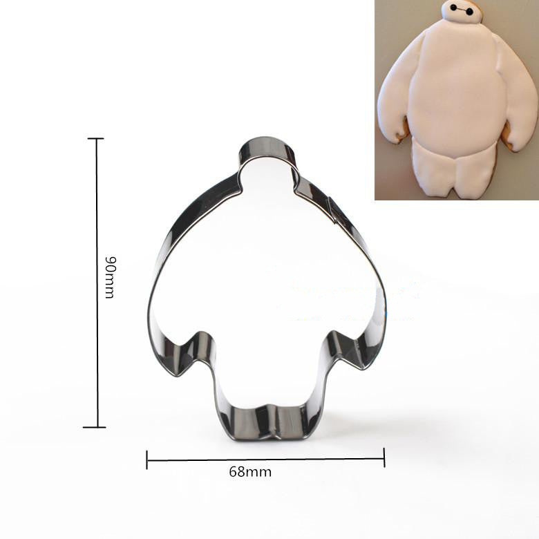 New Hot! Big Hero 6 Baymax stainless steel cookie mold - Clearlygeek