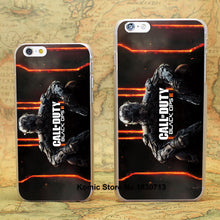 call of duty black ops black ops Design hard transparent clear Skin Cover Case for iPhone 6 6s 6 Plus - Clearlygeek - 1