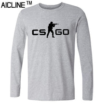 Long sleeved T Shirt COUNTER STRIKE GLOBAL CS Gun T shirts Summer Slim Fit Casual Man Tees Fashion Normal T-shirts - Clearlygeek - 10