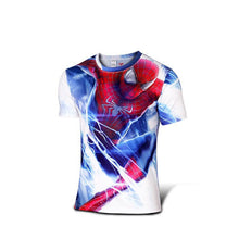 Hot sales 2015 New compressed t-shirt hot Super hero Lightning  Iron man t shirt men sports quick dry fitness clothing - Clearlygeek - 19