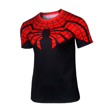 Hot sales 2015 New compressed t-shirt hot Super hero Lightning  Iron man t shirt men sports quick dry fitness clothing - Clearlygeek - 13