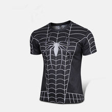 Marvel Super Heroes Avenger Batman sport T shirt Men Compression Armour Base Layer Long Sleeve Thermal Under Top Fitness XS-8XL - Clearlygeek - 5