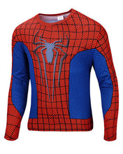 2015 new men Body sculpting sweatshirt T-shirt spiderman captain America avengers superhero men's long sleeve shirt 21 style - Clearlygeek - 6