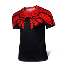 High quality new 2016 Men superhero Batman Jersey shirt sports quick dry fitness compression drying T shirt 3D girly men - Clearlygeek - 12