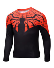 2015 new men Body sculpting sweatshirt T-shirt spiderman captain America avengers superhero men's long sleeve shirt 21 style - Clearlygeek - 14