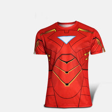 High quality new 2016 Men superhero Batman Jersey shirt sports quick dry fitness compression drying T shirt 3D girly men - Clearlygeek - 6