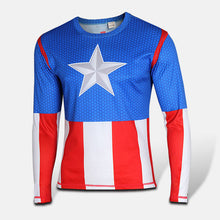 2015 Top Sales Superhero T shirt Tee Superman Spiderman Batman Avengers Captain America Ironman 20 Style Cycling Clothing S-4XL - Clearlygeek - 9