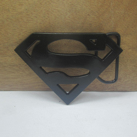Black Superman belt buckle Europe and the United States hot spot wholesale FP-03237-1 large price favorably - Clearlygeek