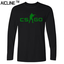 Long sleeved T Shirt COUNTER STRIKE GLOBAL CS Gun T shirts Summer Slim Fit Casual Man Tees Fashion Normal T-shirts - Clearlygeek - 2