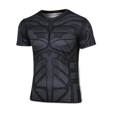 Hot sales 2015 New compressed t-shirt hot Super hero Lightning  Iron man t shirt men sports quick dry fitness clothing - Clearlygeek - 9