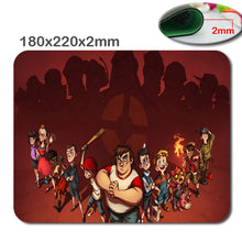 Team fortress 2 Anti - Slip fast Laptop mouse pad printing size 220 * 180 * 2 mm high  DIY soft rubber game mouse cool mouse pad - Clearlygeek - 7