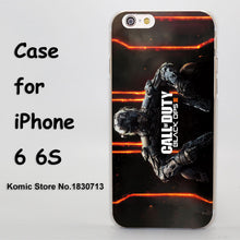 call of duty black ops black ops Design hard transparent clear Skin Cover Case for iPhone 6 6s 6 Plus - Clearlygeek - 3
