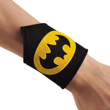2015 new a pair cartoon kids superhero wristband bracelet Bangle costume hero cosplay for baby boy girl birthday Party supplies - Clearlygeek - 15