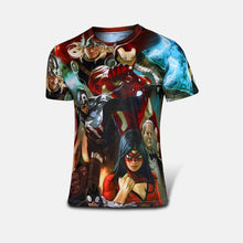 Free shipping 2015 t-shirt Superman/Batman/spider man/captain America /Hulk/Iron Man / t shirt men fitness shirts men t shirts - Clearlygeek - 10