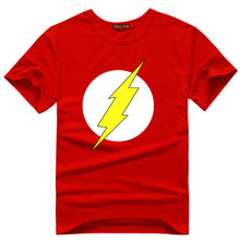 The Big Bang Theory T-shirt Sheldon Cooper super hero green lantern the flash cosplay t shirts comic science geek tee tshirt - Clearlygeek - 6