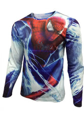High Quality 2016 Marvel Captain America 2 Winter Soldier Costume 3d Super Hero Jersey Long Sleeves Sport Camisetas T Shirt Men - Clearlygeek - 12