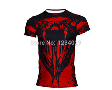 2015 American league devil batman superman tights man, the man of the super elastic sleeve round collar T-shirt fitness clothing - Clearlygeek - 11