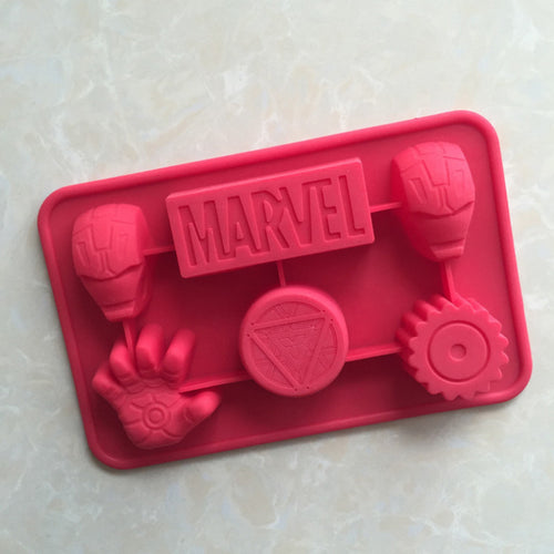 New Marvle Iron Man Hero Biscuit Cake Fondant Chocolate Mould,Cookie Jelly Pudding Soap Mold,Cake Decoration Baking Tools MF99 - Clearlygeek