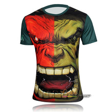 Hot sales 2015 New compressed t-shirt hot Super hero Lightning  Iron man t shirt men sports quick dry fitness clothing - Clearlygeek - 6