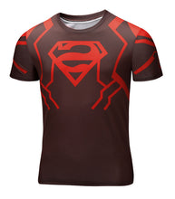 Marvel Super Heroes Avenger Captain America Batman sport T shirt Men Compression Armour Base Layer Thermal Under Causal Shirt - Clearlygeek - 2