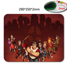 Team fortress 2 Anti - Slip fast Laptop mouse pad printing size 220 * 180 * 2 mm high  DIY soft rubber game mouse cool mouse pad - Clearlygeek - 6