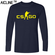 Long sleeved T Shirt COUNTER STRIKE GLOBAL CS Gun T shirts Summer Slim Fit Casual Man Tees Fashion Normal T-shirts - Clearlygeek - 4