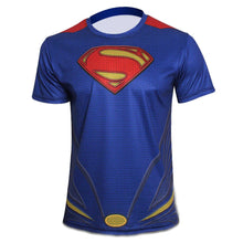 2015 Top Sales Superhero T shirt Tee Superman Spiderman Batman Avengers Captain America Ironman 20 Style Cycling Clothing S-4XL - Clearlygeek - 11