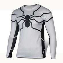 High Quality 2016 Marvel Captain America 2 Winter Soldier Costume 3d Super Hero Jersey Long Sleeves Sport Camisetas T Shirt Men - Clearlygeek - 16