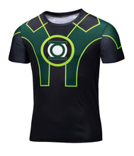 Marvel Super Heroes Avenger Captain America Batman sport T shirt Men Compression Armour Base Layer Thermal Under Causal Shirt - Clearlygeek - 6