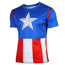 2015 Top Sales Superhero T shirt Tee Superman Spiderman Batman Avengers Captain America Ironman 20 Style Cycling Clothing S-4XL - Clearlygeek - 14