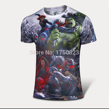 Hot sales 2015 New compressed t-shirt hot Super hero Lightning  Iron man t shirt men sports quick dry fitness clothing - Clearlygeek - 8
