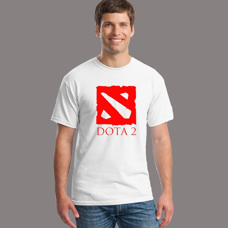 Defense of the Ancients T Shirts Men DOTA 2 Man T-Shirt Multiplayer Game Mens tshirt Cotton O Neck Camisetas Free Shipping Tops - Clearlygeek - 7