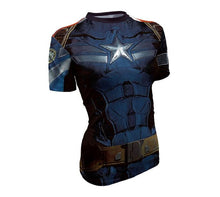Hot sales women's T-shirt 3D printing Tee Marvel Super Hero Quick-Drying T shirt high quality - Clearlygeek - 8