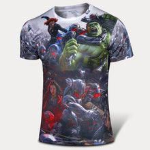 High quality new 2016 Men superhero Batman Jersey shirt sports quick dry fitness compression drying T shirt 3D girly men - Clearlygeek - 2