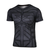 2015 Top Sales Superhero T shirt Tee Superman Spiderman Batman Avengers Captain America Ironman 20 Style Cycling Clothing S-4XL - Clearlygeek - 4