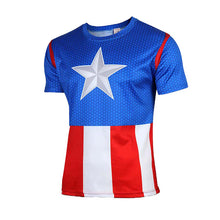 Hot sales 2015 New compressed t-shirt hot Super hero Lightning  Iron man t shirt men sports quick dry fitness clothing - Clearlygeek - 16
